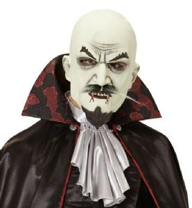 Vampire Mask with Tash and Goatee  (00844)
